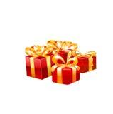 Vector del regalo Foto de archivo