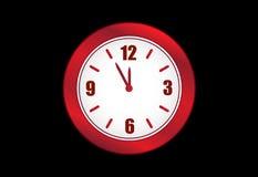 Vector del reloj Fotos de archivo libres de regalías