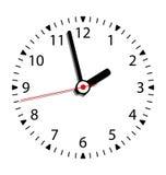 Vector del reloj Imágenes de archivo libres de regalías
