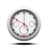 Vector del reloj de la moneda del dólar Fotografía de archivo