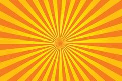 Vector del resplandor solar Fotos de archivo libres de regalías