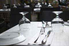 Vector del restaurante Fotografía de archivo
