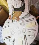 Vector del restaurante Foto de archivo
