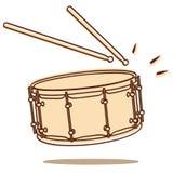 Vector del tambor ilustración del vector
