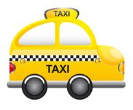 Vector del taxi Imagen de archivo libre de regalías