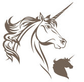 Vector del unicornio Fotografía de archivo