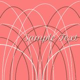 Vector delicate pearl beads for backgrounds, cards. Invitations Stock Photo