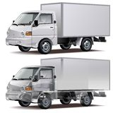 Vector delivery / cargo truck Royalty Free Stock Photo