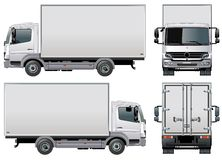 Vector delivery / cargo truck Royalty Free Stock Photos