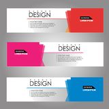 Vector design Banner background. illustration EPS10 Royalty Free Stock Photo