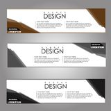 Vector design Banner background. illustration EPS10 Stock Photos