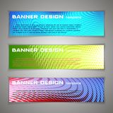 Vector design Banner background. Header, horizontal,. Vector design Banner background. Header, horizontal set Stock Photos