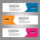 Vector design Banner background. illustration EPS10 Stock Photo
