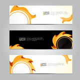 Vector design Banner background. Royalty Free Stock Image