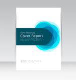 Vector design for Cover Report Annual Flyer Poster in A4 size. EPS10 Stock Images