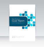 Vector design for Cover Report Annual Flyer Poster in A4 size. EPS10 Stock Photo