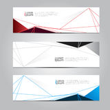 Vector design Banner backgrounds. Stock Image