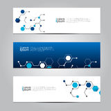 Vector design Banner technology background. Royalty Free Stock Photos