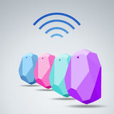 Vector Design beacon device home and office radar. Use for all s Royalty Free Stock Photos