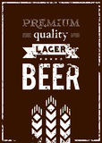 Vector design of beer label vector illustration