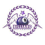 Vector Design Billiards, pool and snooker sport icon Royalty Free Stock Photography