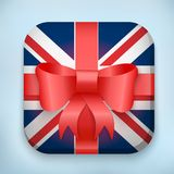 Vector Design British Gift Icon for Web and Mobile Stock Photo