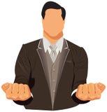 Vector design of businessman in suit Stock Photo