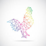 Vector design of cock Stock Image