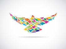 Vector design of colorful birds Royalty Free Stock Images
