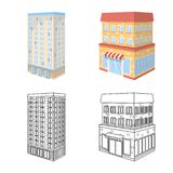 Vector design of construction and building icon. Set of construction and estate stock vector illustration. Vector illustration of construction and building stock illustration