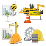 Vector Design and Construction Royalty Free Stock Photo