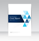 Vector design for Cover Report Annual Flyer Poster in A4 size Royalty Free Stock Photography