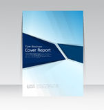 Vector design for Cover Report Annual Flyer Poster in A4 size Royalty Free Stock Photo