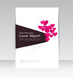 Vector design for Cover Report Annual Flyer Poster in A4 size. Vector design for Cover Report Annual Flyer Poster Brochure in A4 size Royalty Free Illustration