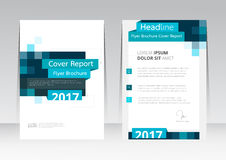 Vector design for Cover Report Brochure Flyer Poster in A4 size. Vector design for Cover Report Brochure Flyer Poster Brochure in A4 size Royalty Free Stock Photography