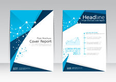 Vector design for Cover Report Brochure Flyer Poster in A4 size. Vector design business for Cover Report Annual Brochure Flyer Poster in A4 size Royalty Free Stock Photos