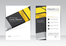 Vector design for Cover Report Brochure Flyer Poster in A4 size Royalty Free Stock Photography