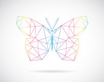 Vector design of dragonfly Stock Photos