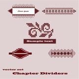 Vector design element Stock Images
