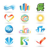 Vector design elements 10 Stock Image