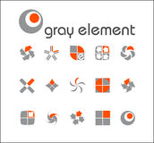 Vector design elements. Stock Photos