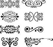 Vector design elements Royalty Free Stock Photo