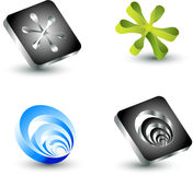Vector design elements Stock Image