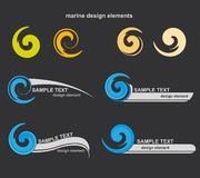 Vector design elements Royalty Free Stock Photography