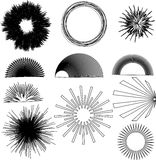 Vector Design Elements. Multiple vector design elements  eps file available Royalty Free Stock Image