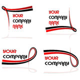 Vector design elements Royalty Free Stock Images