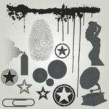 Vector design elements... Royalty Free Stock Photos
