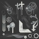 Vector design elements... Royalty Free Stock Photo