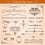 Vector Design Elements And Borders Royalty Free Stock Photos