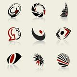Vector design elements..can be used as logo Stock Photos
